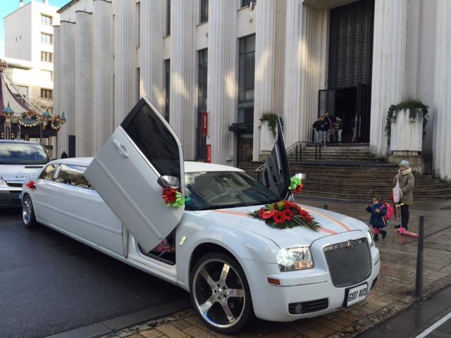 Limousine a louer pour mariage